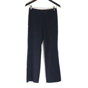 Eileen Fisher Black Casual Lounge Wide Leg Pants